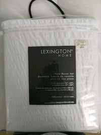Lexington Home Twin White Duvet Cover