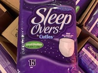 Sleep Overs  Small/Medium  Pampers Diapers