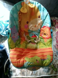 baby's green and blue bouncer San Angelo