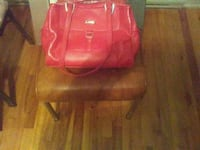 red leather purse Montreal, H1P 2W8