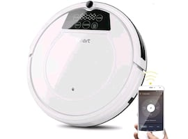 Shipped brand new. Robot vacuum cleaner