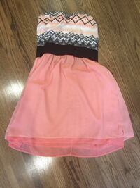 Summer strapless dress size small -medium Regina