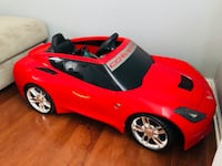 red and black ride-on toy car Woodbridge, 22191