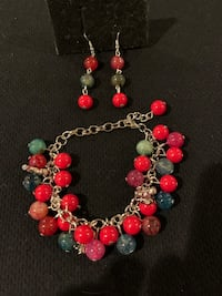Handmade bracelet and earrings Catasauqua, 18032