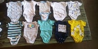 Newborn and 0m-3m onesies Houston, 77014