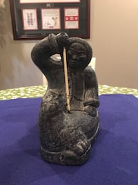 Hand Carved Soap Stone Inuit Statue Calgary, T2M 2P2