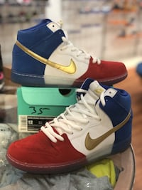Tricolor Nike Dunk high Sb size 12 Silver Spring, 20902