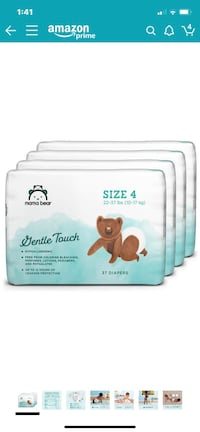 Baby Diapers Size 4 - 148 Ct