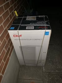 Brand new master chef compact fridge