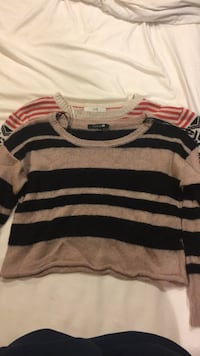 Cropped sweaters Lot of two Falmouth, 04105