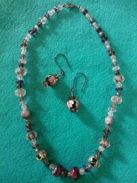 Handmade necklace & earring set.. One of a kind Middle River, 21220