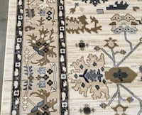 7.10X10.10 Ivory Area Rug Sterling