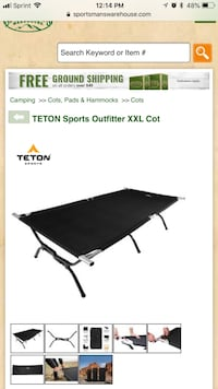 Extra extra large cot Adult,camping cot, extra bed Arlington, 22209
