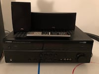 black Sony DVD player with remote Chatham, N7L 1R1