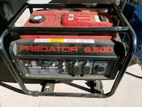 black and red Predator portable generator San Jose, 95130