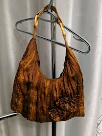 women's brown leather hobo bag Barrie