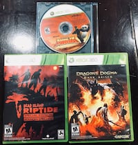 Three xbox 360 game cases Milton, L9T 6L1