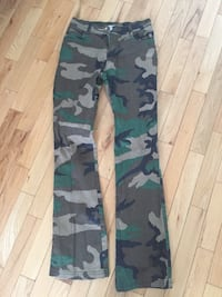 Rothco camo pants gently used maybe once or twice Edmonton, T5P