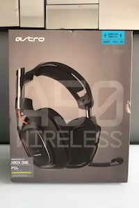 ASTRO A50 - Black And Red - Wireless Gaming Headphones (XBOX, PS3, PC) Philadelphia, 19103