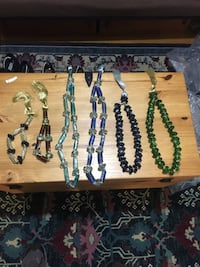 Worry beads for wall hanging or table decor. Watertown, 02472