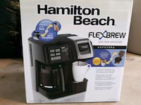 black and gray Hamilton Beach coffeemaker Washington, 20018