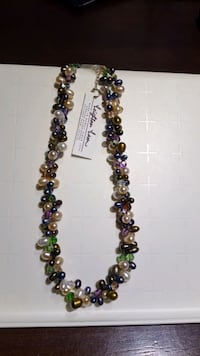 2 Strand Fresh Water  Pearl Necklace