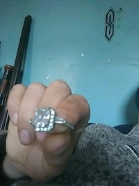 Sterling silver ring Rochester, 03867