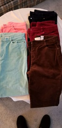 Cords Size 8, Tall - 5 Colors 25.00 Nottingham, 21236