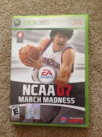 NCAA March Madness 07 Xbox 360 35 km