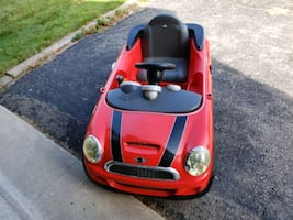 (AS IS)Mini Cooper car toy