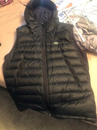 Lacoste Vest. Like brand new. Make an offer. Pick up only Yonkers, 10704