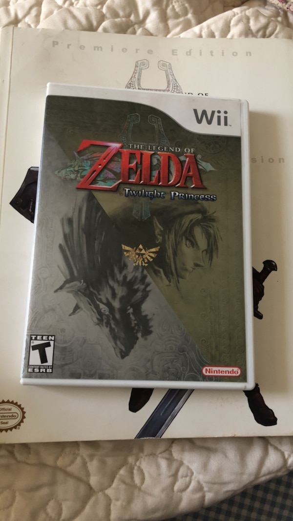 Zelda twilight princess Wii game and guide