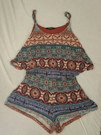 Size Small Womens Romper Light Soft Cute Springfield, 65802
