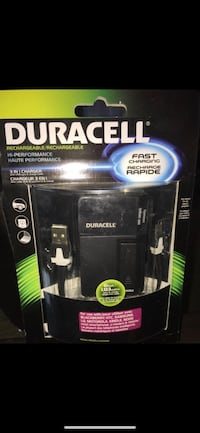 Duracell Rechargeable Hi-Performance 3 in 1 for car/home/computer Richmond, V7E 6S2