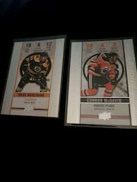 Connor McDavid Brad Marchand tim cards