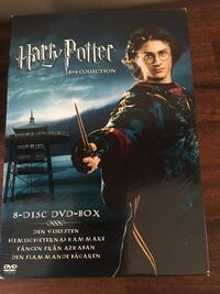 Harry Potter dvd samling Vendelsö, 136 71