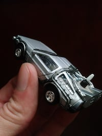 gray car diecast model