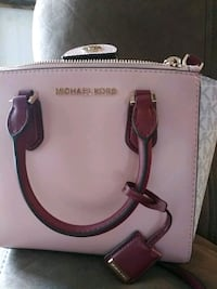 white leather Michael Kors 2-way bag Houma