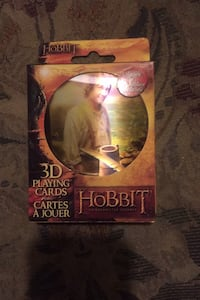Hobbit playing cards