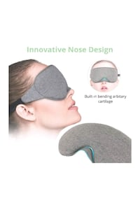 Sleep Mask, Cotton Eye Mask for Sleeping-100% Light Blocking Sleep Eye Richmond Hill, L4S 2E6