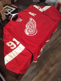 Official vintage CCM RedWing Fedorov Jersey XL Scottsdale, 85251