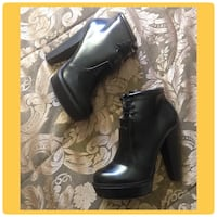 Forever 21 Black lace up booties  Hamilton, L9B