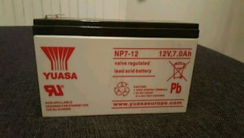 12v 7 ah battery #akü