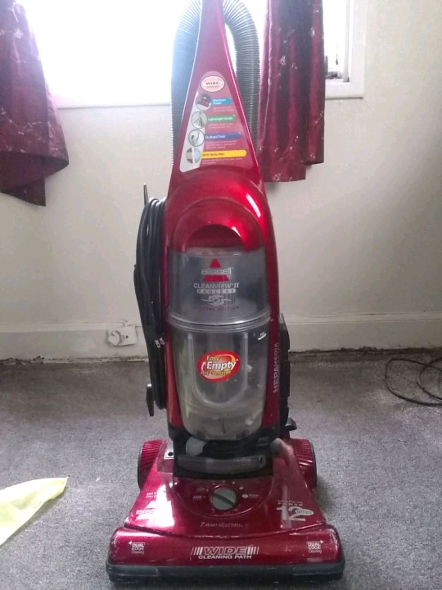 red Bissell upright vacuum cleaner for sale  Montgomery