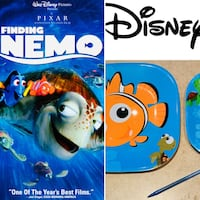 Disney Finding Nemo plates & large beach towel Brampton, L6R 3J2