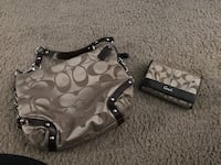 Authentic Coach purse and matching wallet Corpus Christi