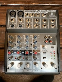 Behringer Xenyx 802 6 Channel Mixer Federal Way, 98003