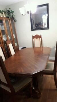 Solid wood dining table set  Toronto, M3L 1R9