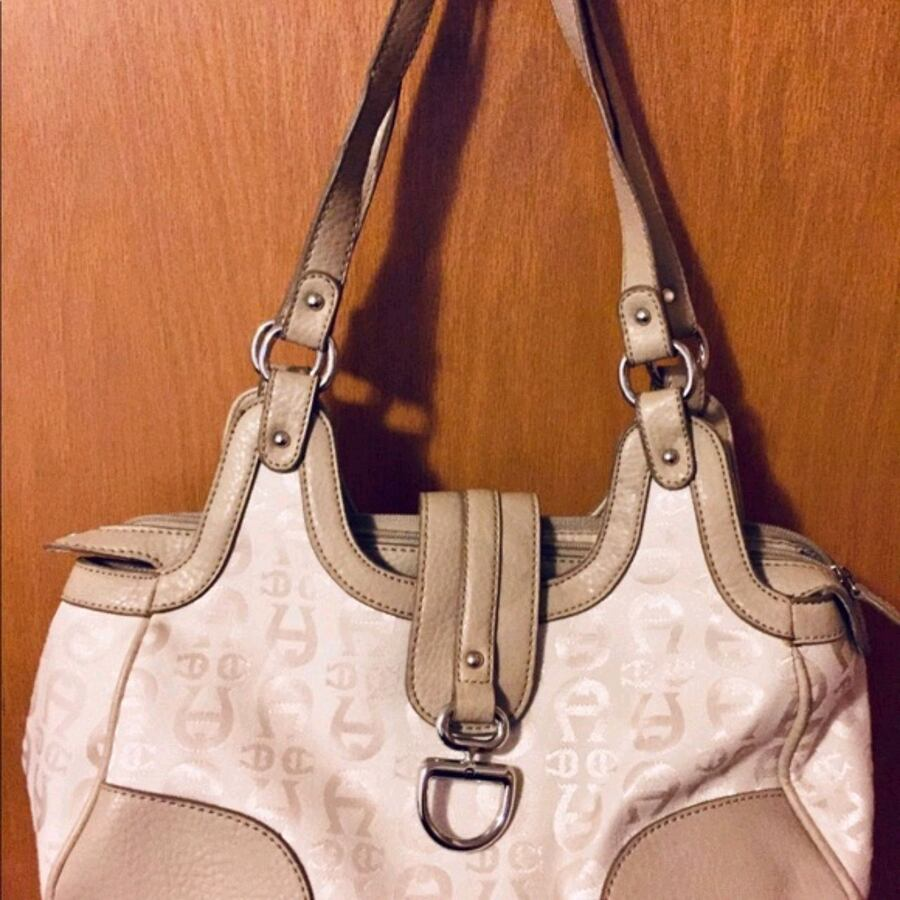 Slightly used Beige and Cream Aigner Purse