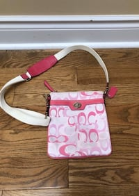 Pink Coach Crossbody Vaughan, L4J 8K5